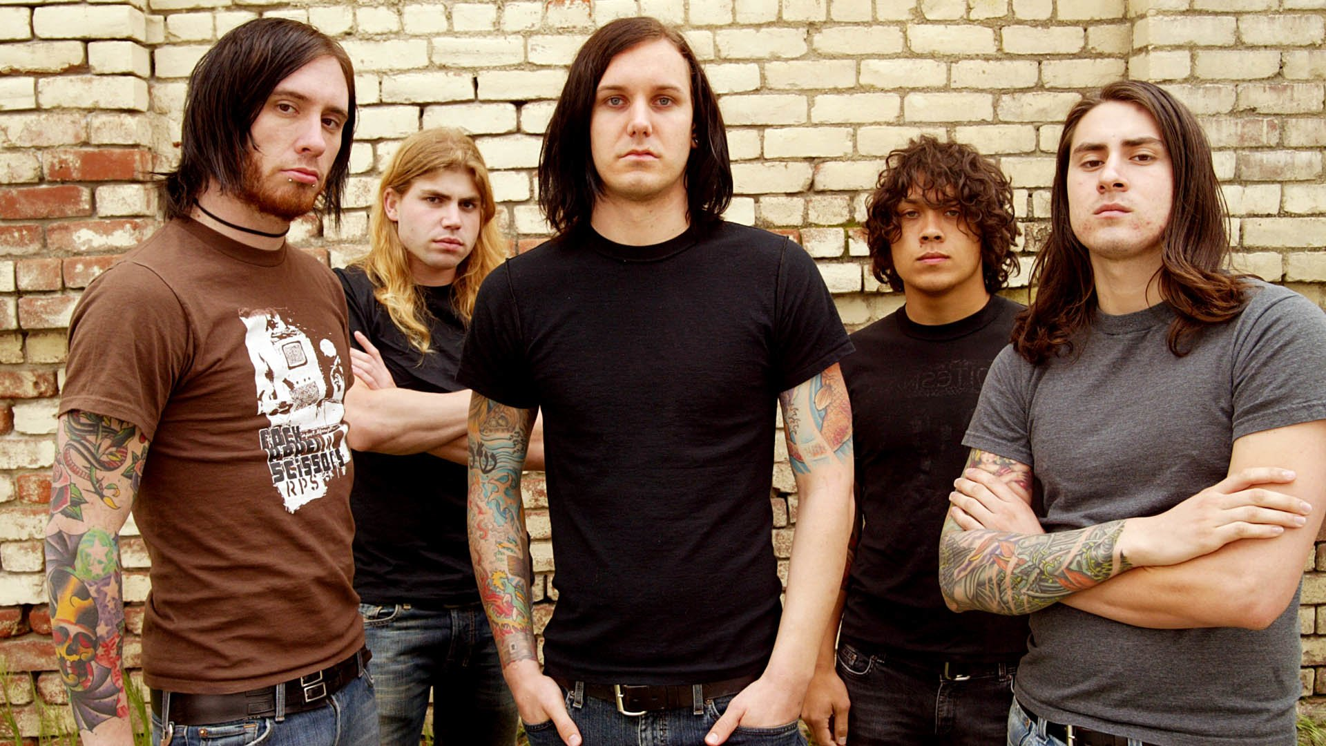 As I Lay Dying HD Wallpaper