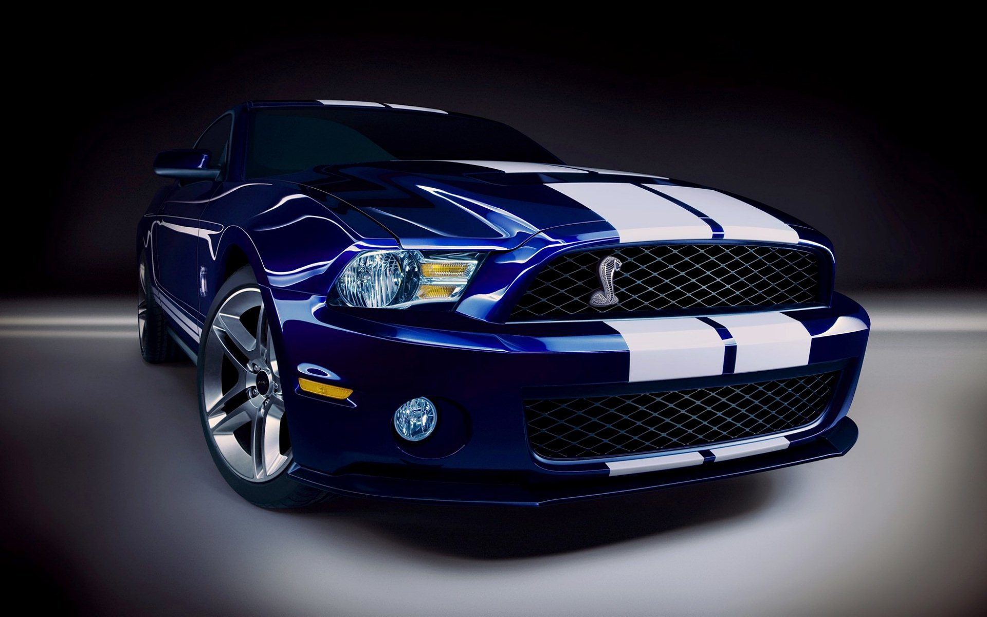 Vehicles - Ford Mustang Shelby GT500  Blue Car Car Wallpaper