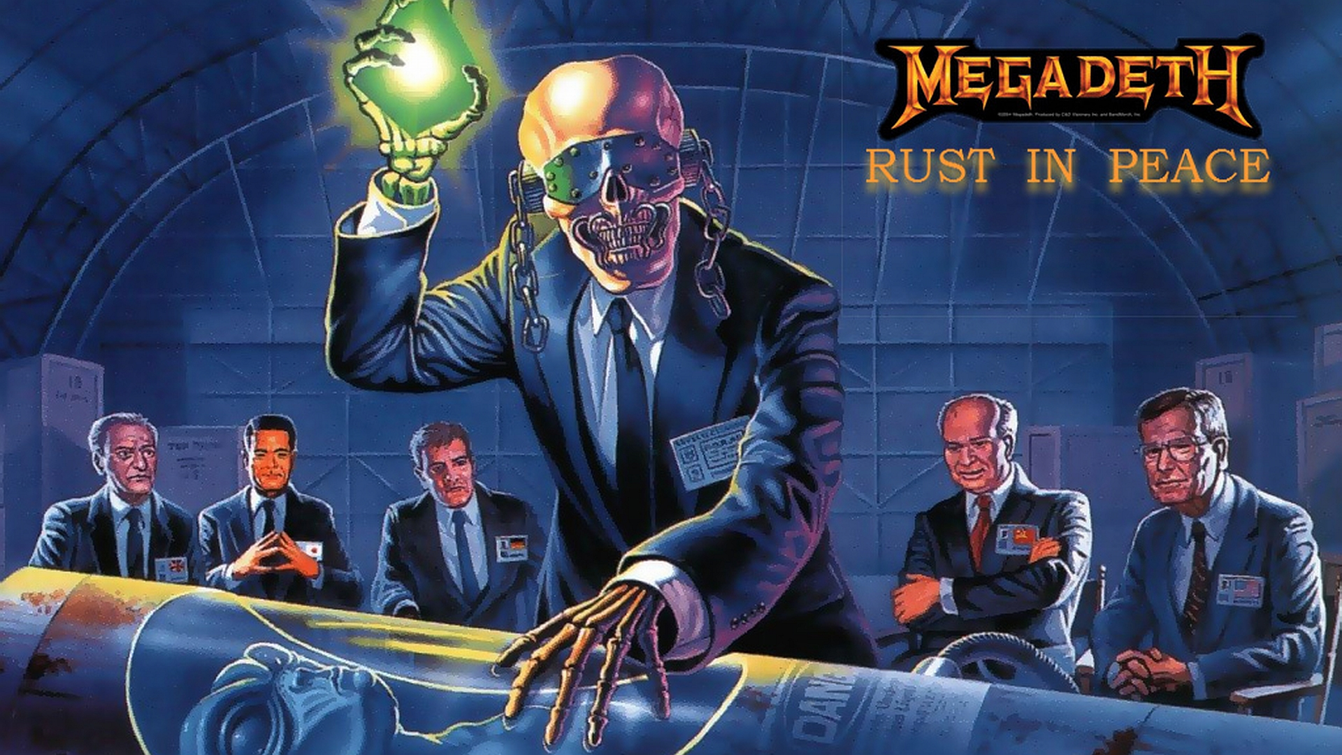 Music - Megadeth  Wallpaper