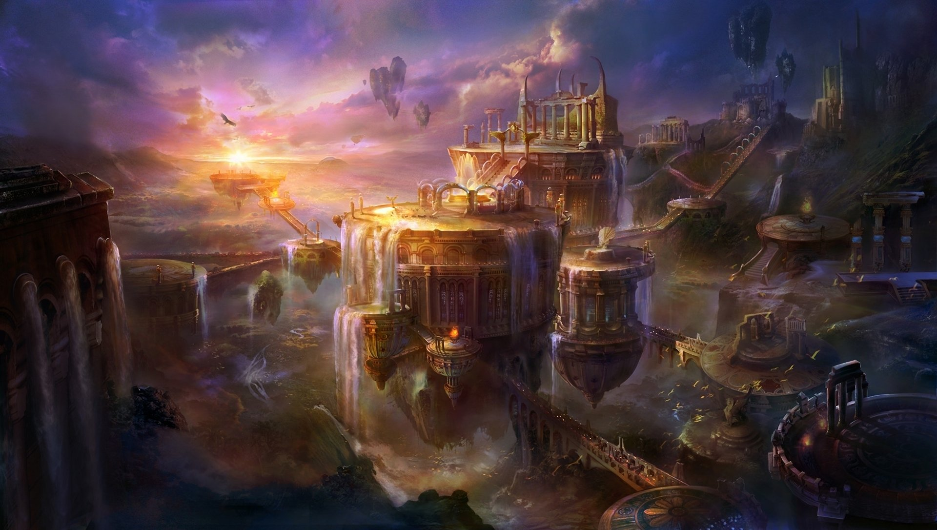 Fantasy - City  Wallpaper