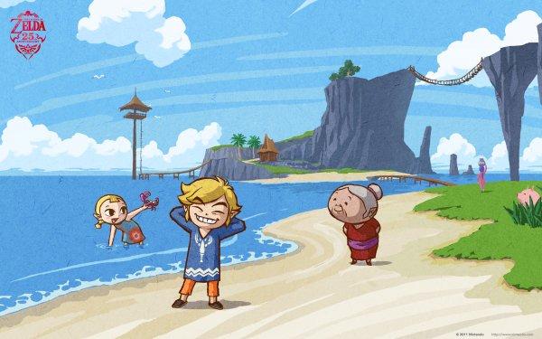 Video Game The Legend of Zelda: The Wind Waker Zelda Link Aryll HD Wallpaper | Background Image