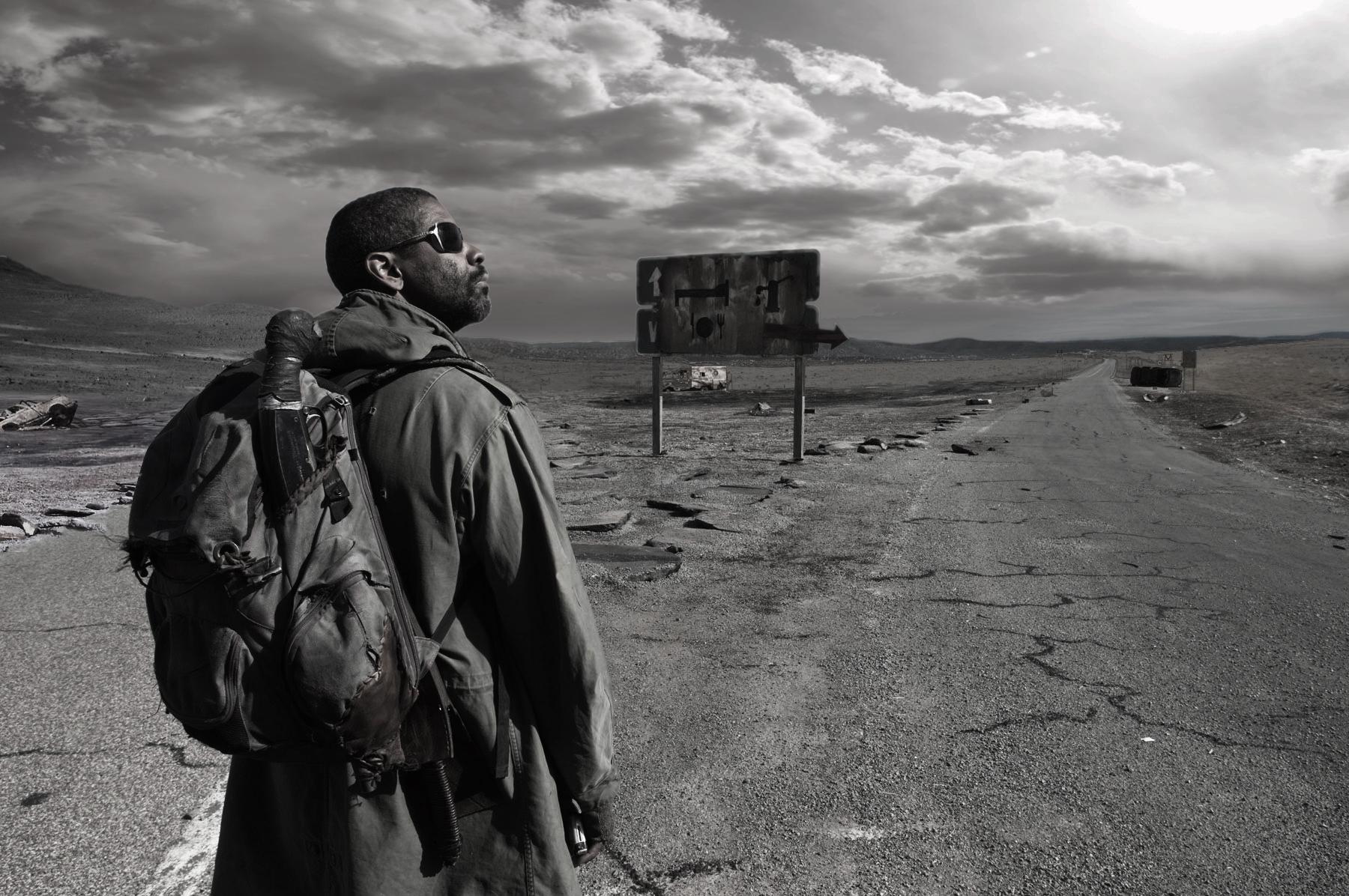 Movie - The Book Of Eli  Denzel Washington Actor Religion Wallpaper