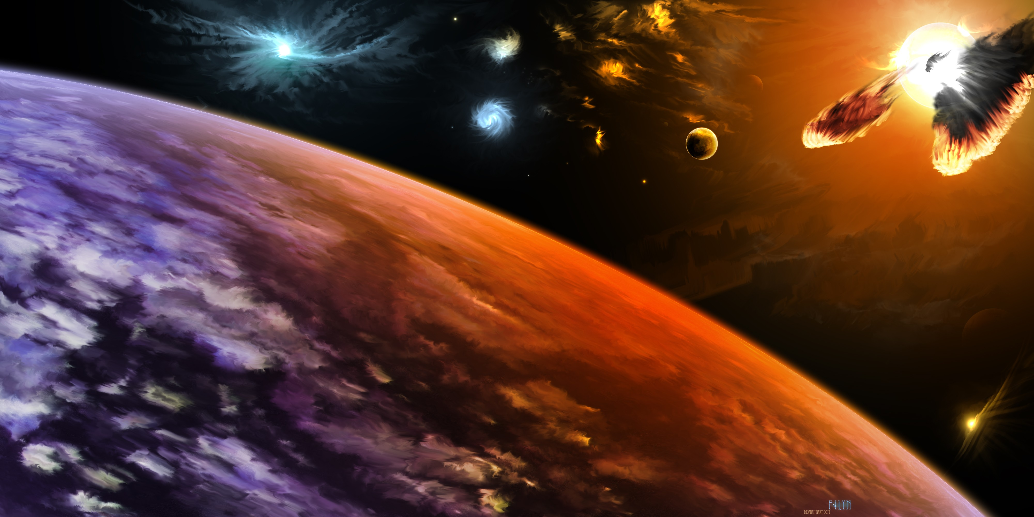 Planet Full HD Wallpaper and Background Image  4000x2000  ID:199811