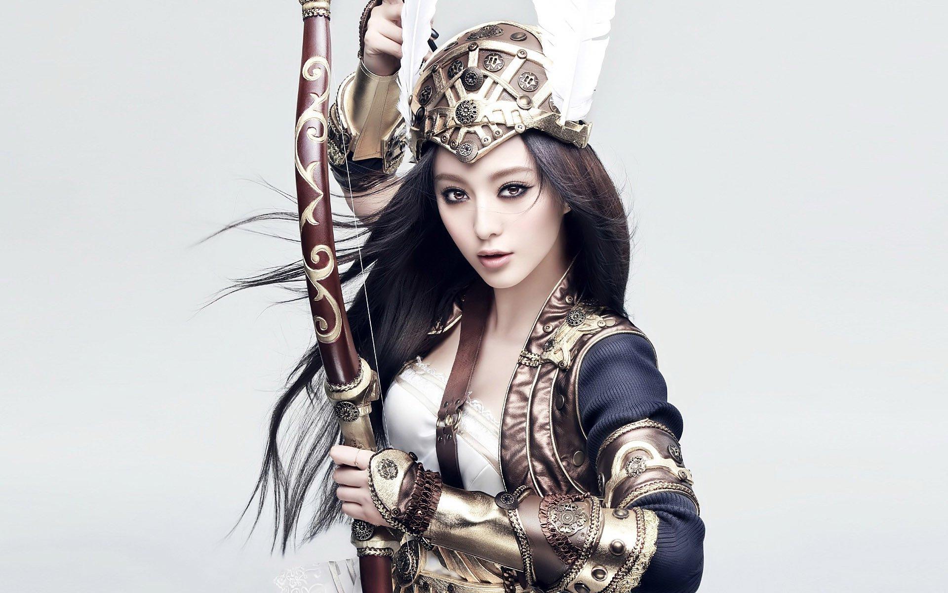 名人 - Fan Bingbing  战士 Woman 奇幻 壁纸