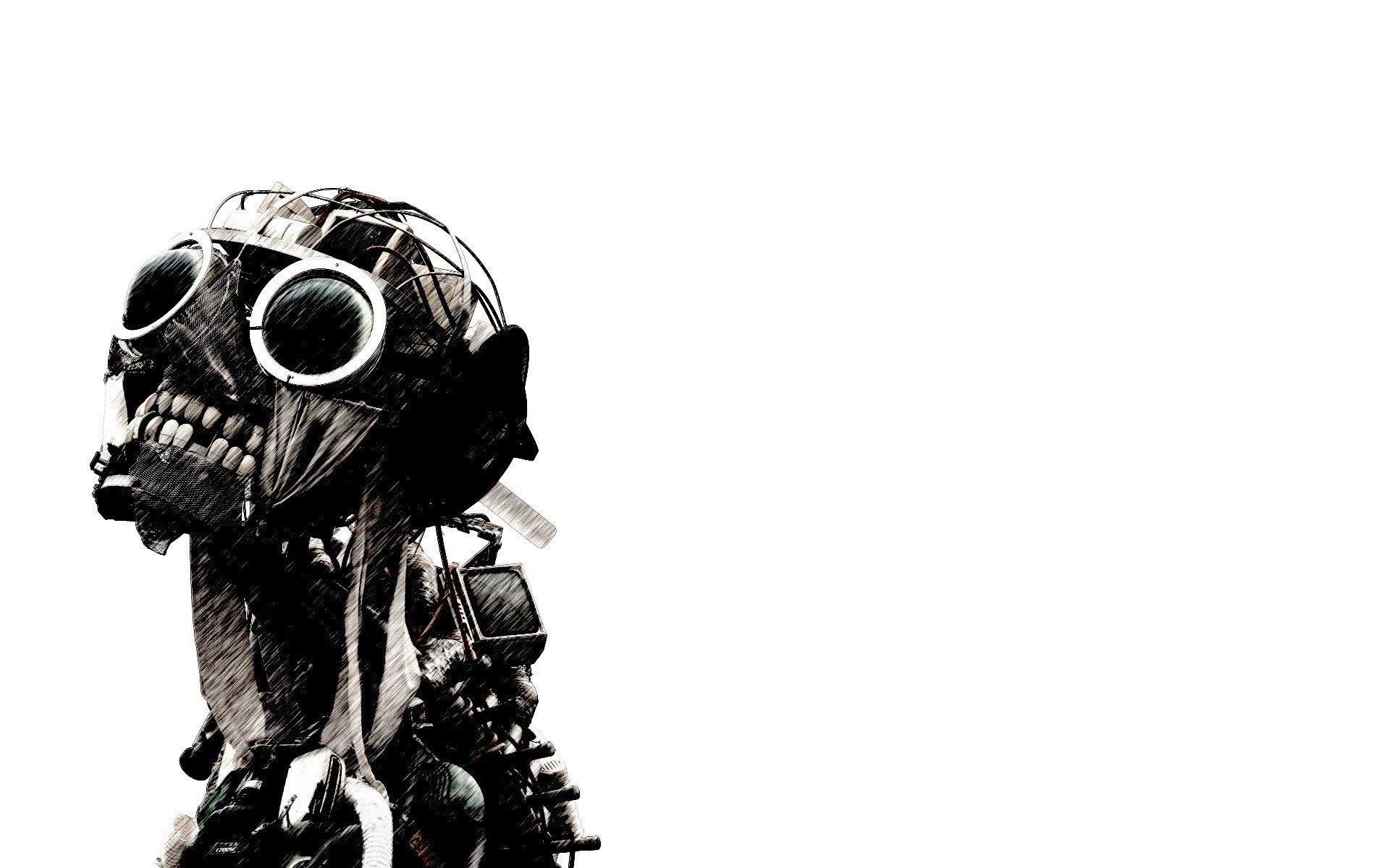 Sci Fi - Dark  Zombie Monster Mask Wallpaper
