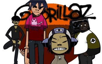 Musik - Gorillaz Wallpapers and Backgrounds ID : 199473