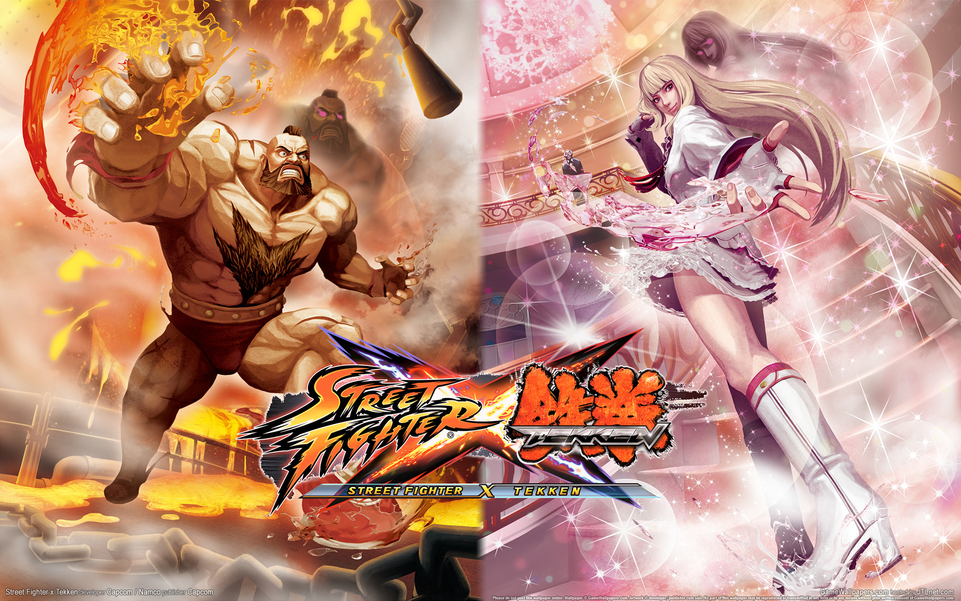 Street Fighter X Tekken Hd Wallpaper Background Image 1920x1200 Id 200011 Wallpaper Abyss
