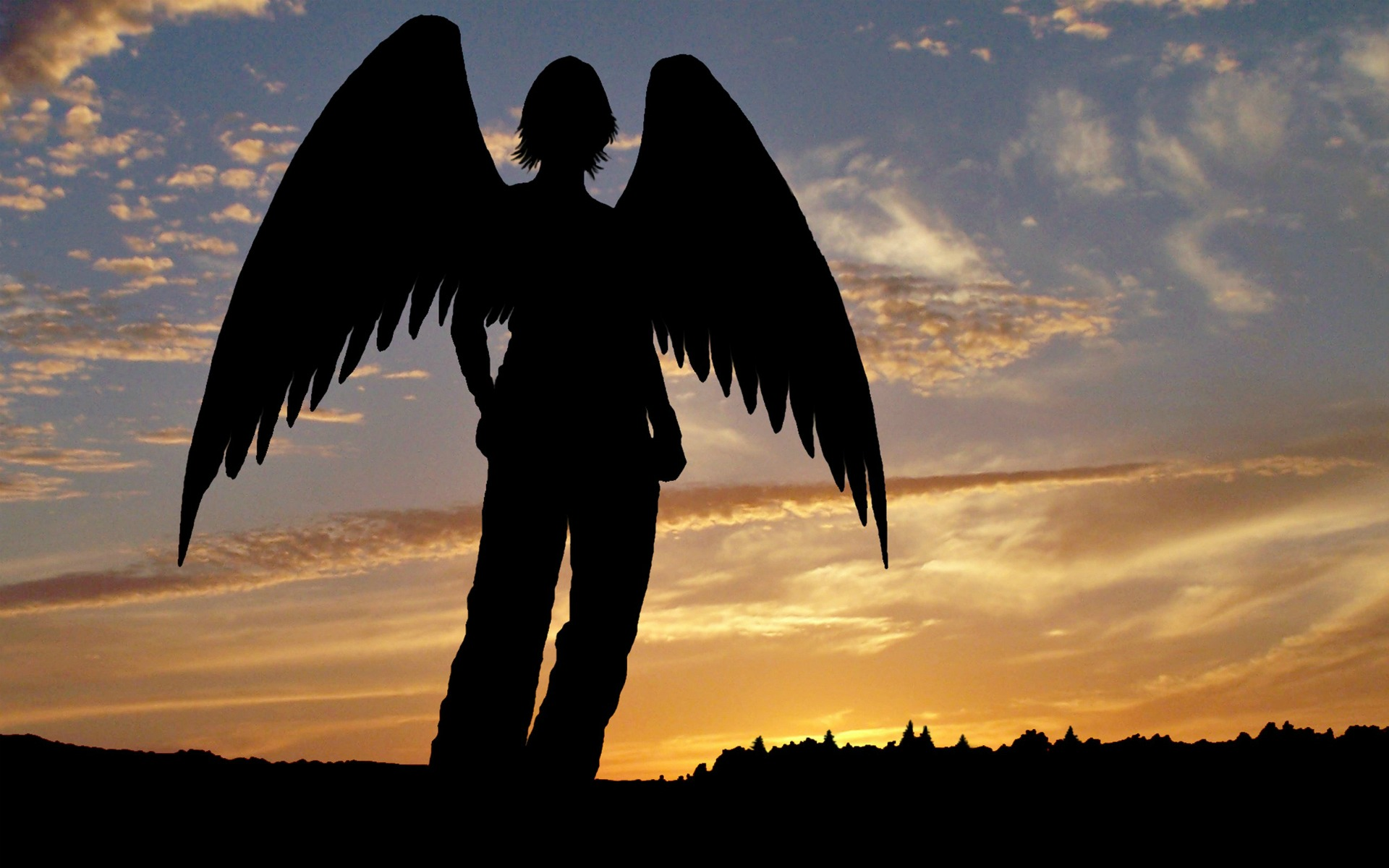 Photography - Artistic  Angel Wallpaper