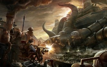 Science-Fiction - Steampunk Wallpapers and Backgrounds ID : 201151