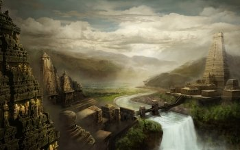 Fantasy - City Wallpapers and Backgrounds ID : 201193