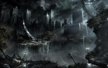 Научная фантастика - Post Apocalyptic Wallpapers and Backgrounds ID : 201743