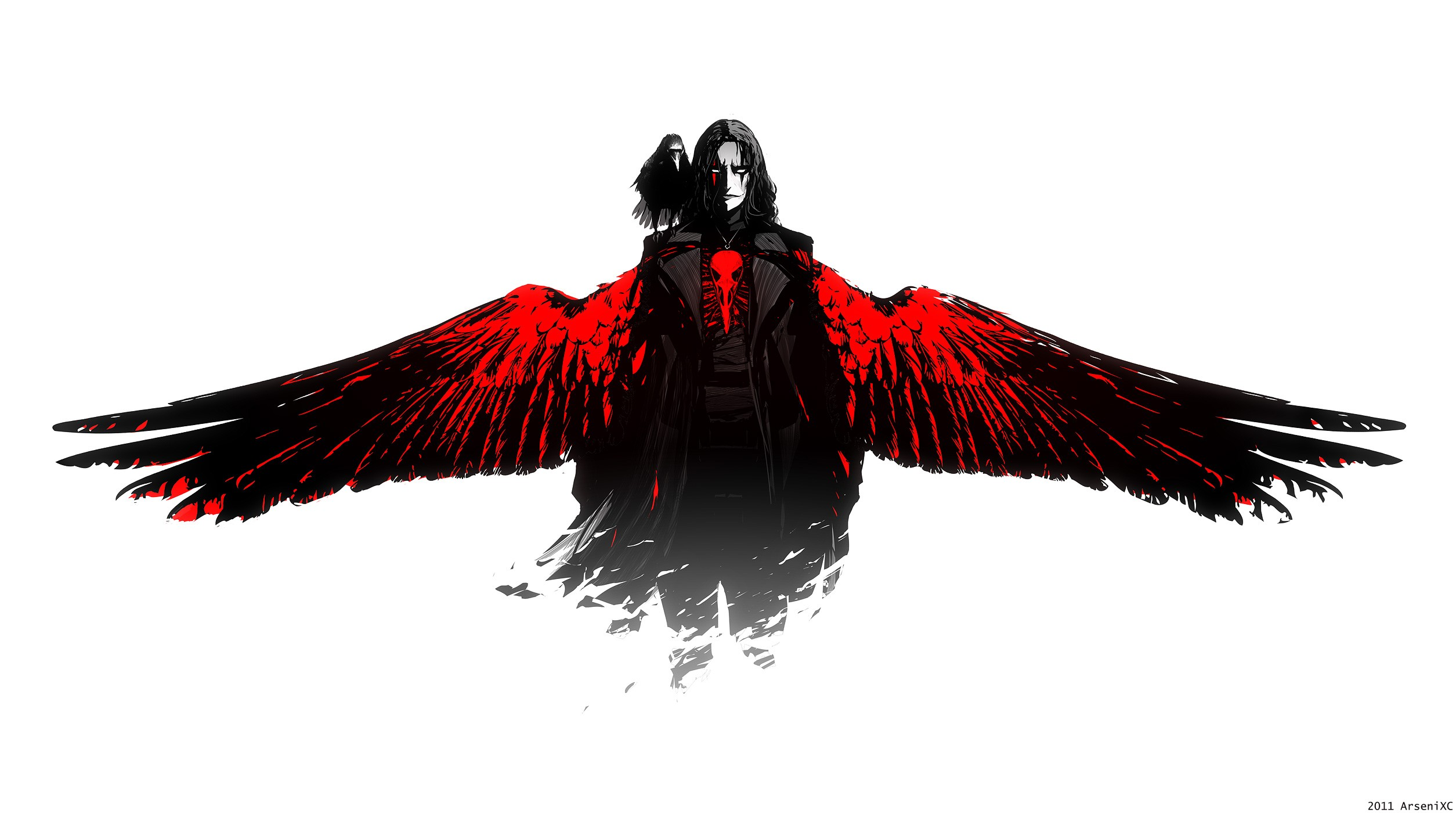 The Crow Full HD Wallpaper And Background Image