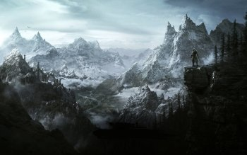 1236 The Elder Scrolls V: Skyrim HD Wallpapers | Background Images -  Wallpaper Abyss