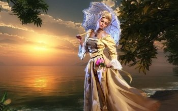 Fantasy - Women Wallpapers and Backgrounds ID : 203771