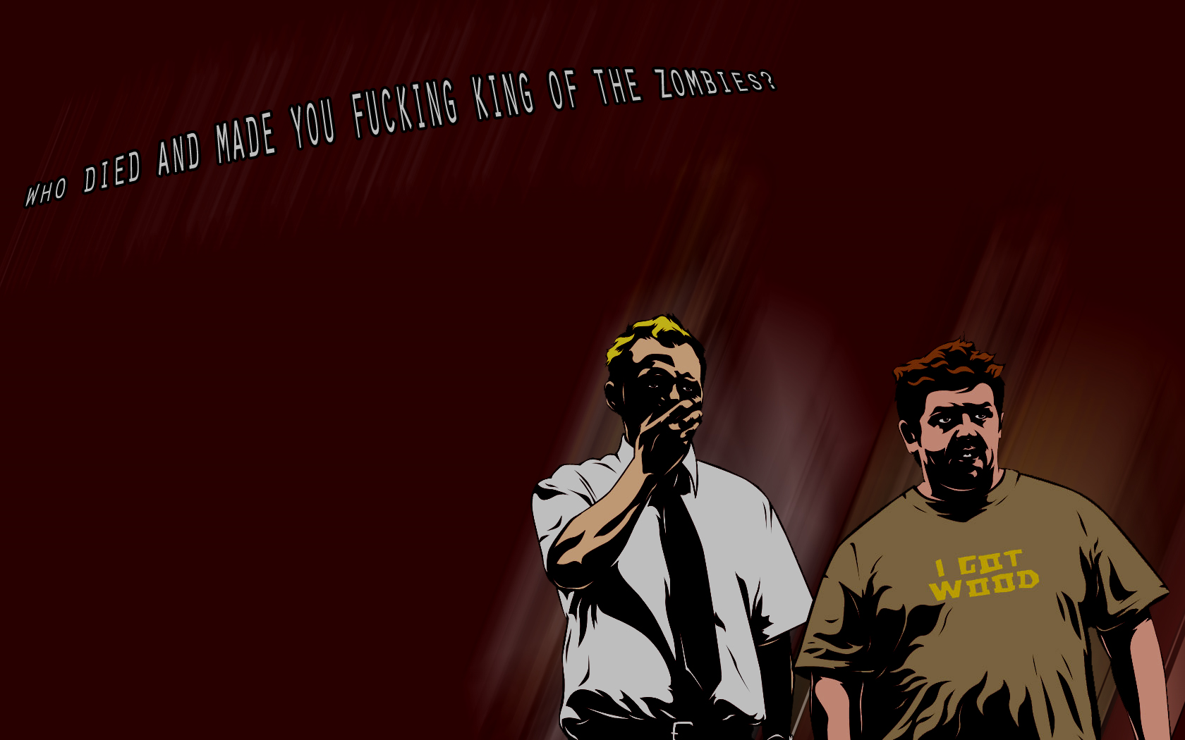 shaun of the dead wallpaper - photo #2