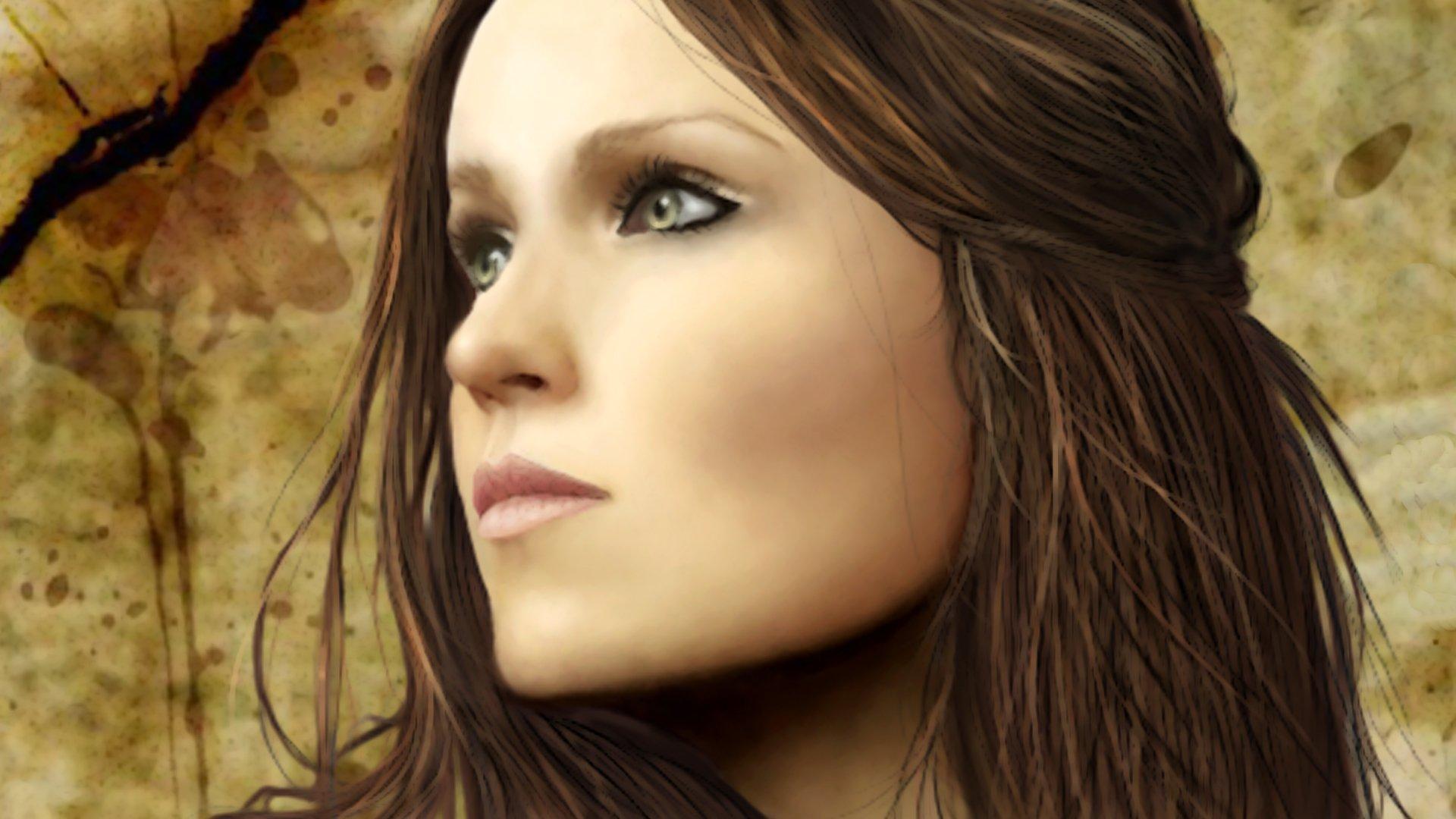 Music - Nightwish  Tarja Turunen Wallpaper