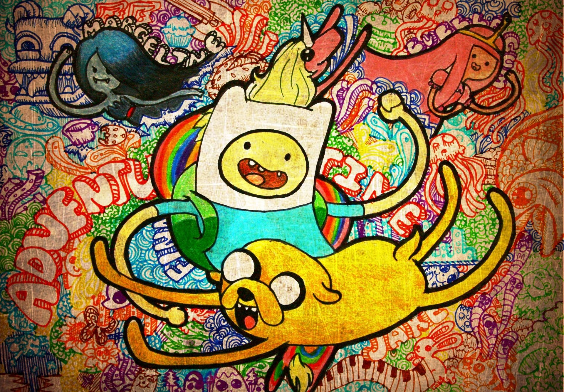 336 Adventure Time Hd Wallpapers Background Images Wallpaper Abyss