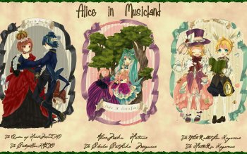 Anime - Alice In Wonderland Wallpapers and Backgrounds ID : 205573