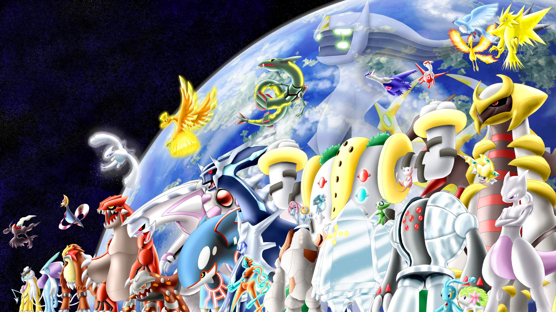 11 Arceus (Pokémon) HD Wallpapers | Backgrounds ...