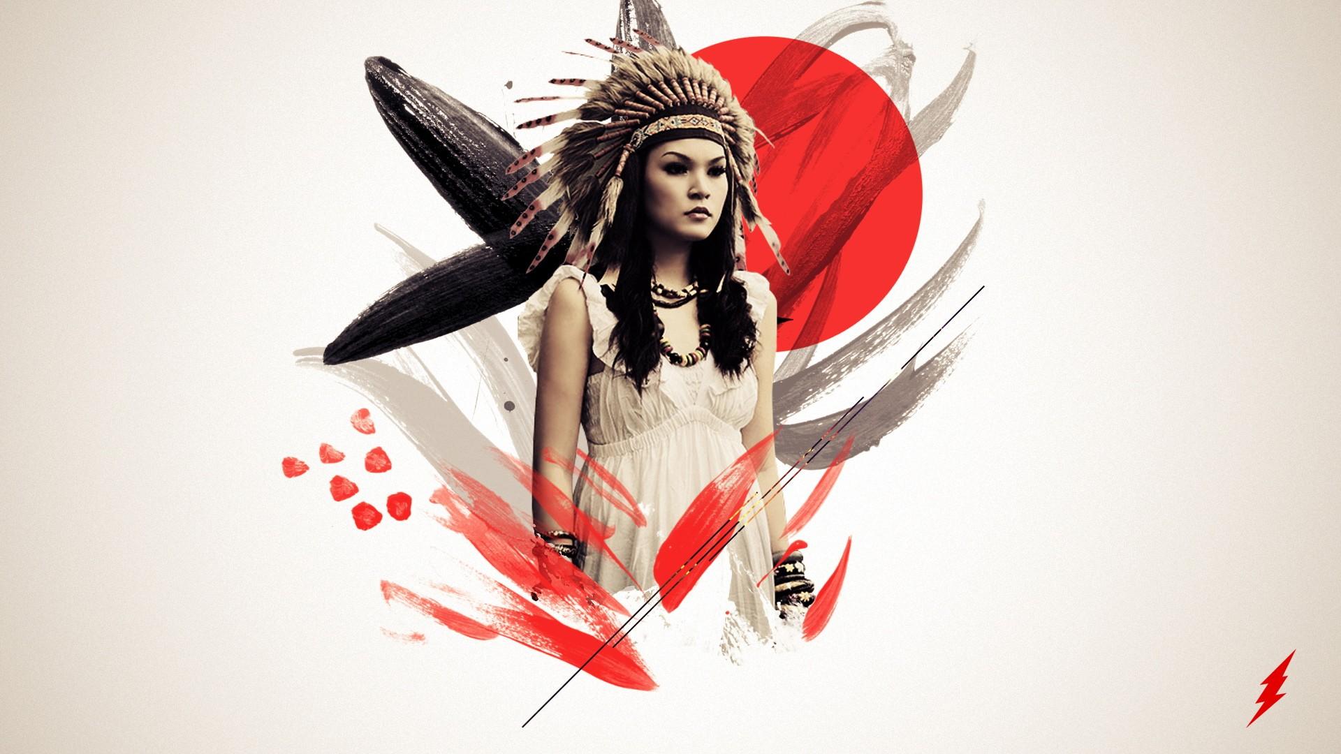 Native american full hd wallpaper and background image 1920x1080 artistic native american wallpaper voltagebd Choice Image