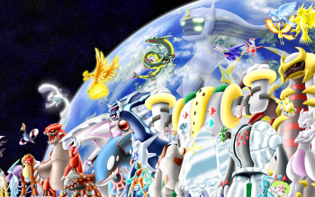 101 Legendary Pokemon HD Wallpapers