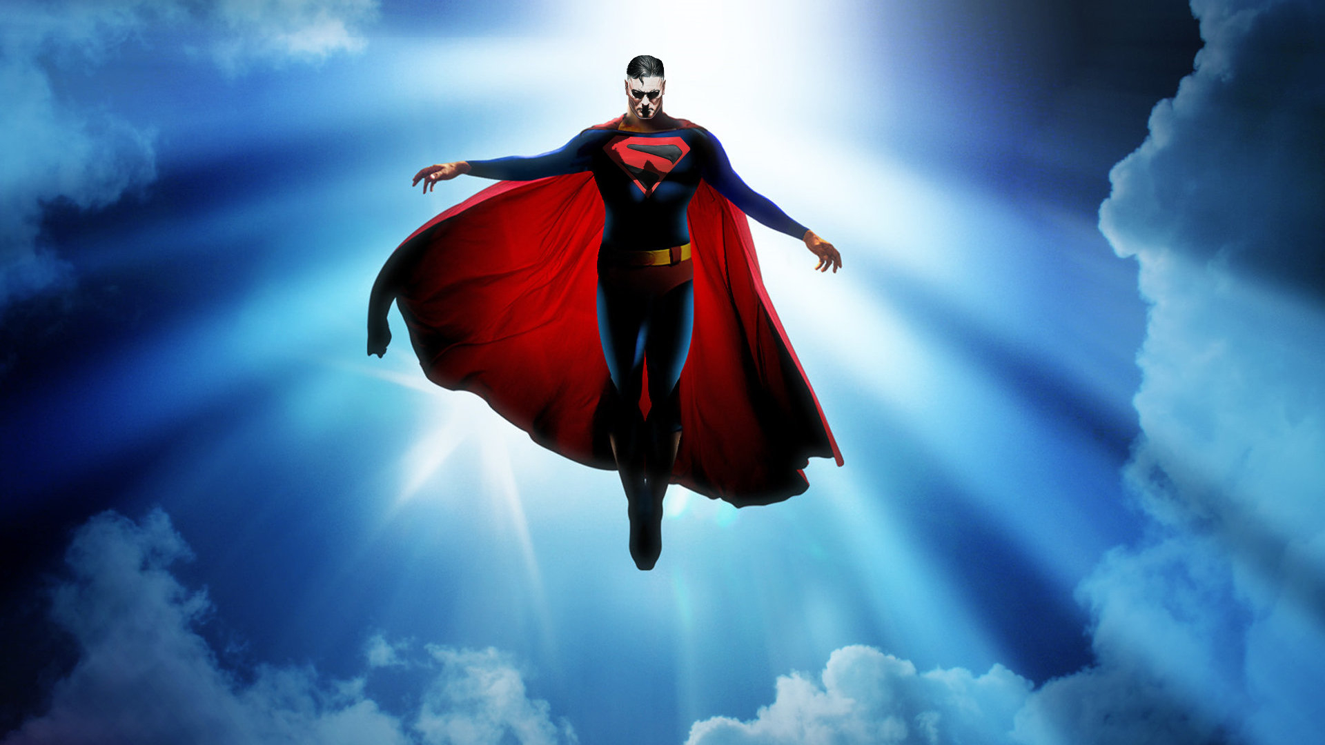 Superman HD Wallpaper | Background Image | 1920x1080 | ID:208531 - Wallpaper Abyss