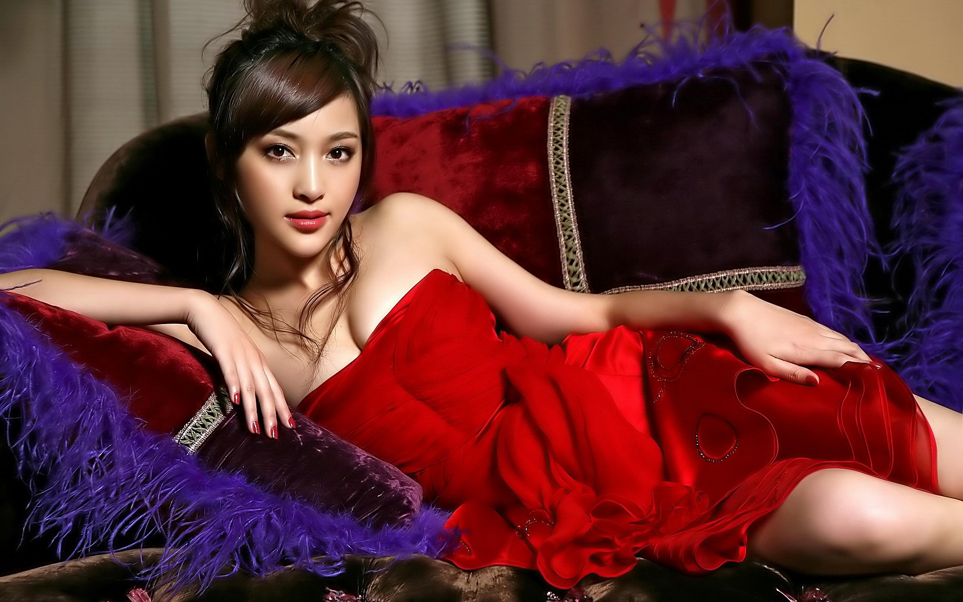 Women - Oriental  - Asian - Beautiful - Hot Wallpaper