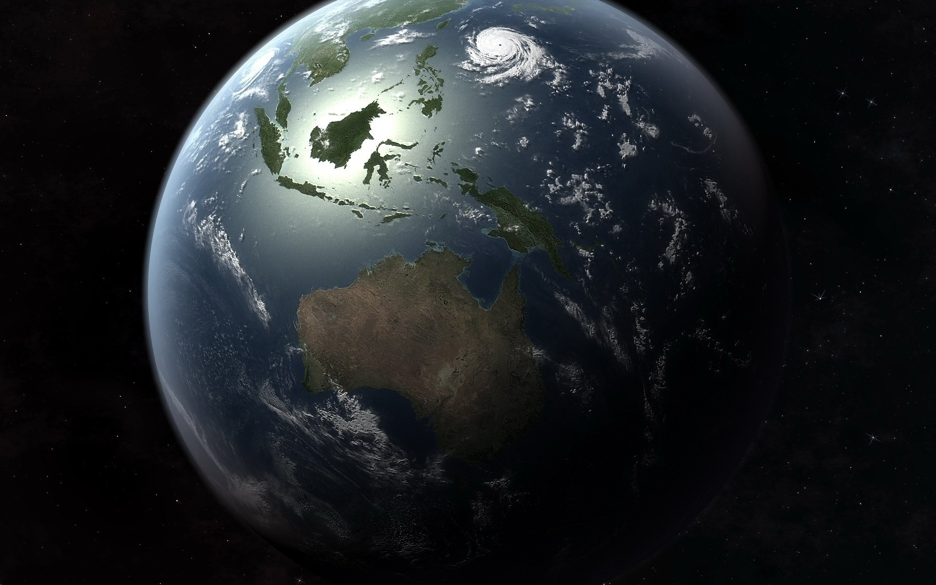 From Space HD Wallpaper   Background Image   1920x1200 ...