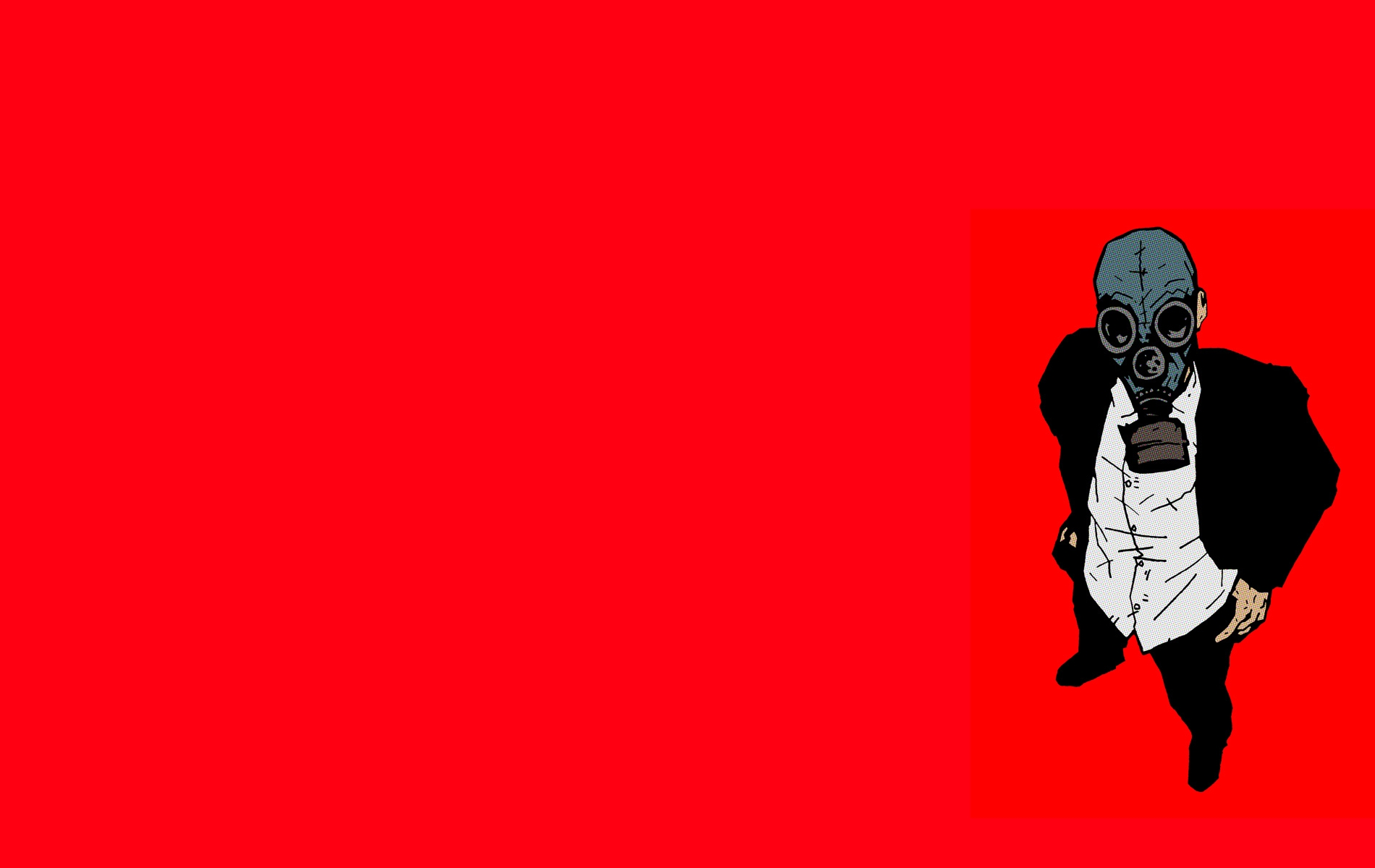 Gas Mask Wallpaper and...V For Vendetta Mask Wallpaper