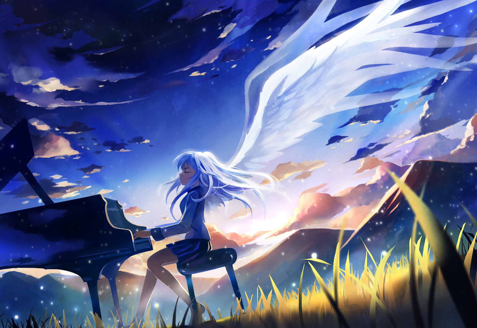 742 Angel Beats Hd Wallpapers Background Images Wallpaper Abyss