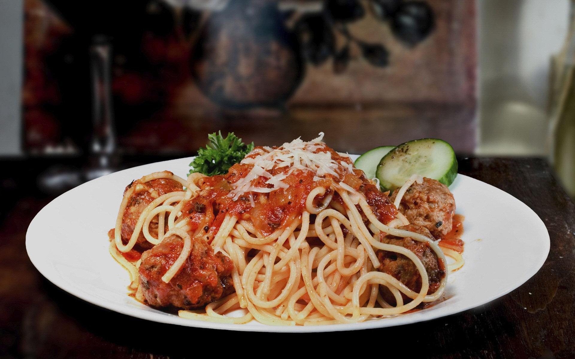 Food - Pasta  Wallpaper