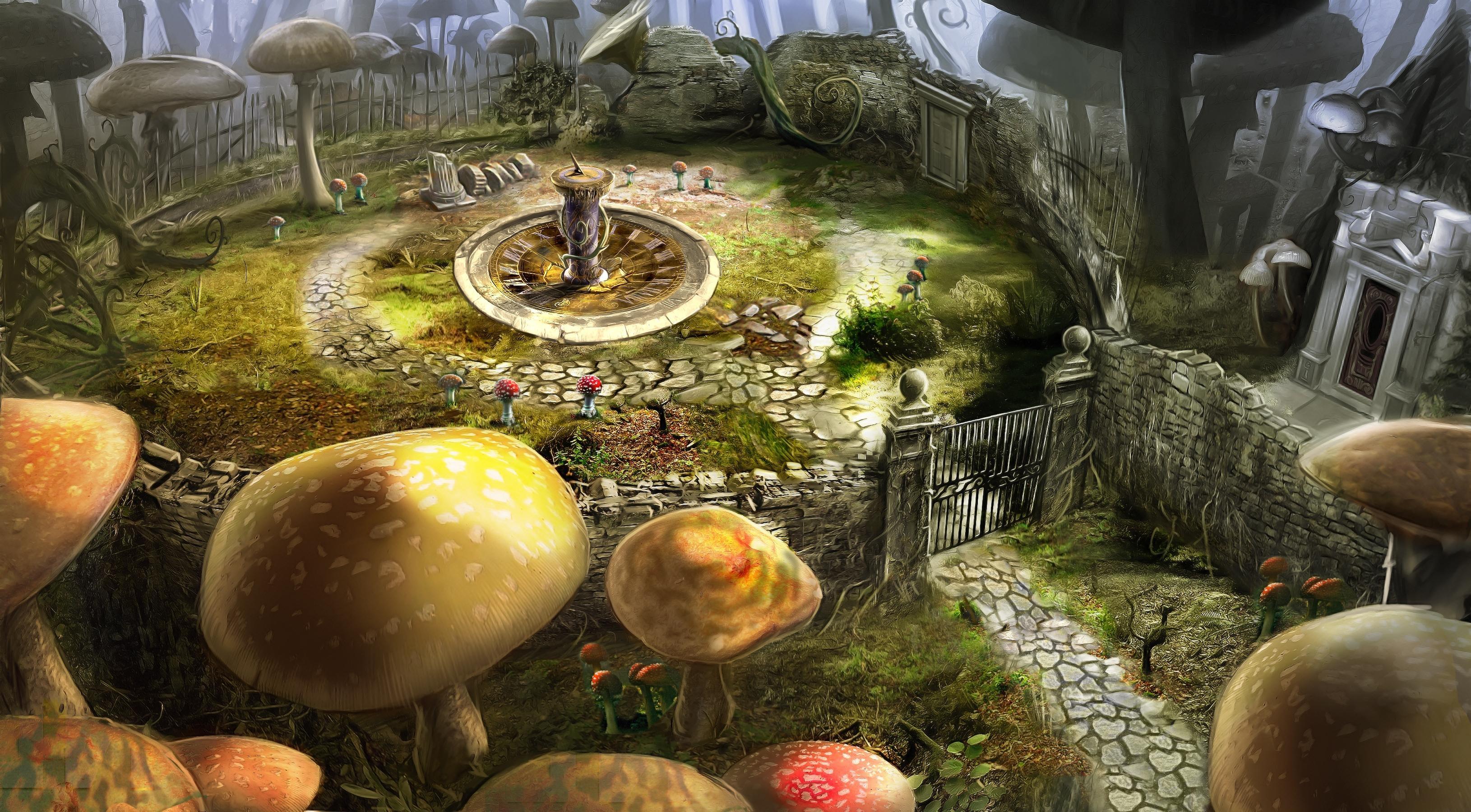 Alice in wonderland hd wallpaper background image 3260x1800 id 214361 wallpaper abyss - Free wallpaper alice in wonderland ...