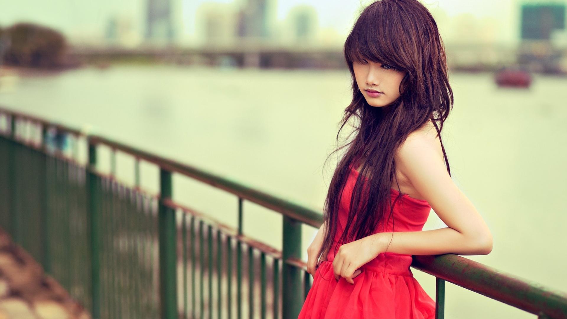 Donne - Asian  Woman Girl Sfondo