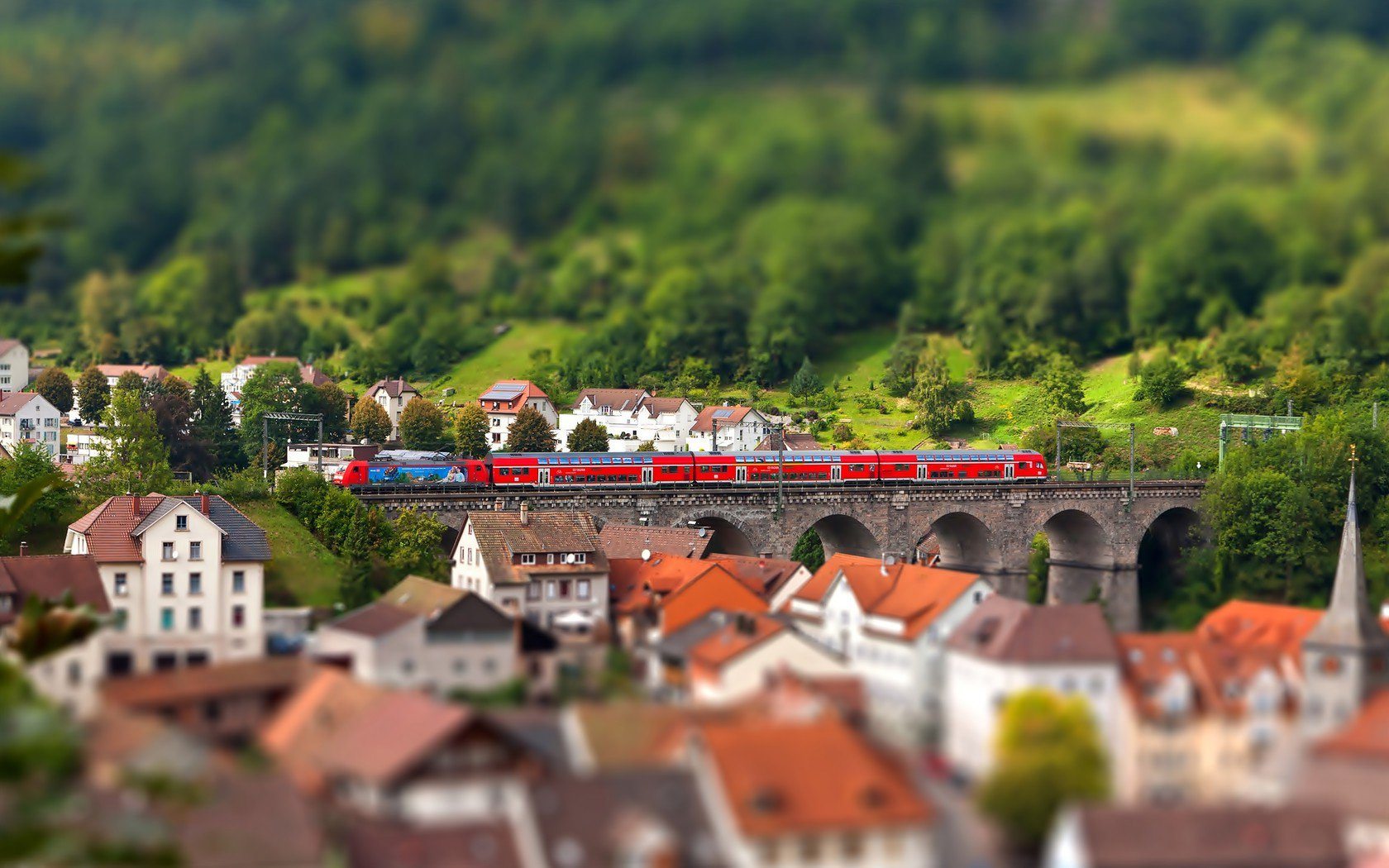 Photography - Tilt Shift  Wallpaper