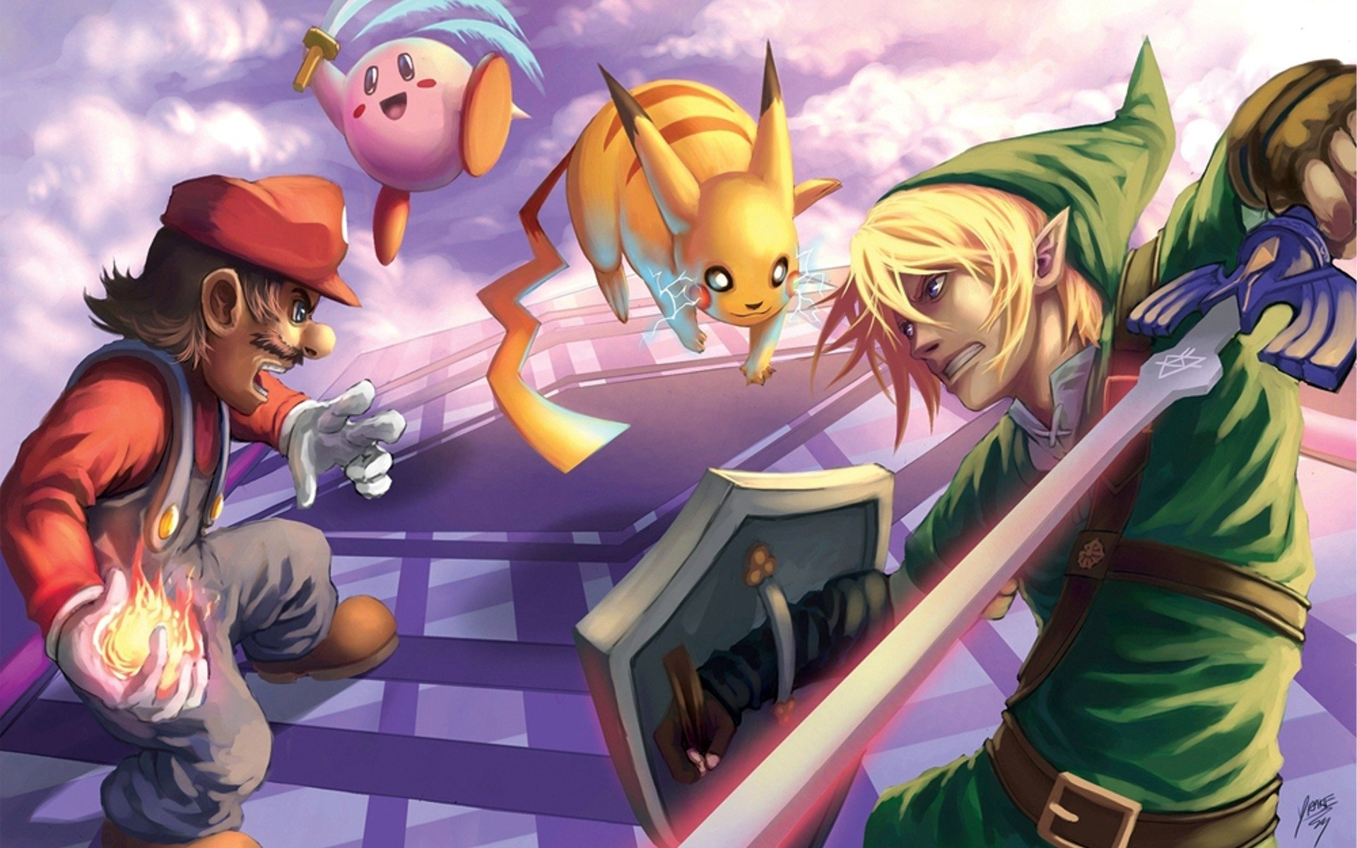 6 Super Smash Bros Hd Wallpapers Background Images Wallpaper