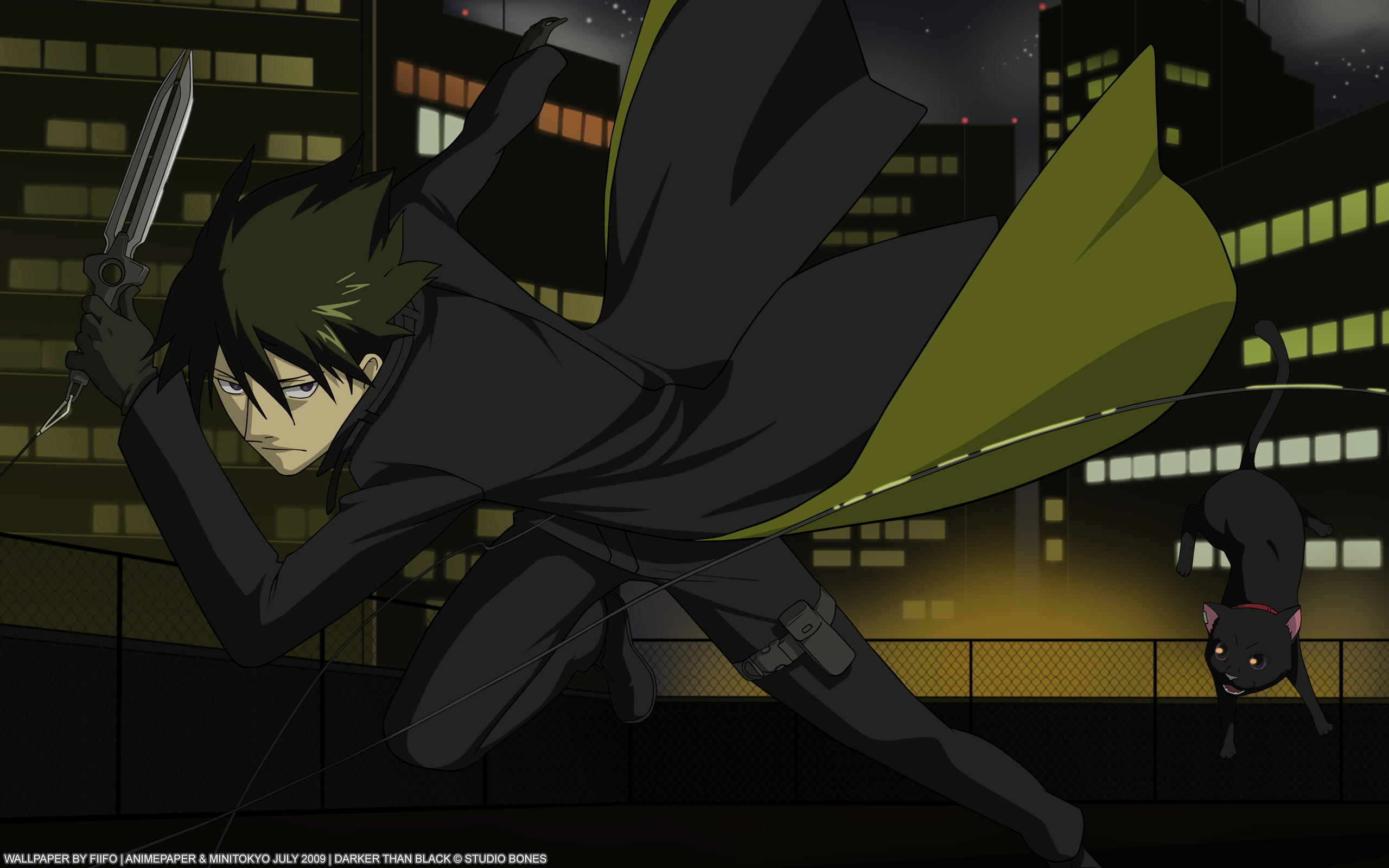 Anime - Darker Than Black  Wallpaper