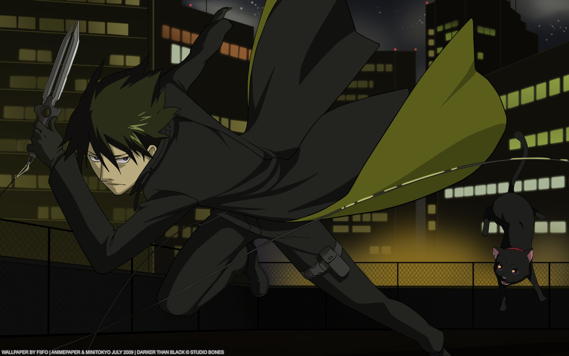 Anime - Darker Than Black  Hei (Darker than Black) Mao (Darker than Black) Wallpaper