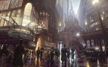 Sciencefiction - Steampunk Wallpapers and Backgrounds ID : 217481