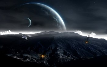 Sci Fi - Landscape Wallpapers and Backgrounds ID : 218341
