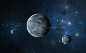 Ciencia Ficción - Planetary Ring Wallpapers and Backgrounds ID : 218801