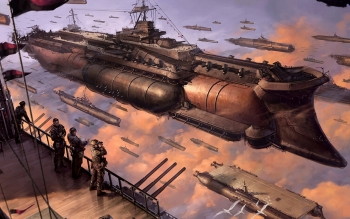 Science-Fiction - Steampunk Wallpapers and Backgrounds ID : 219621
