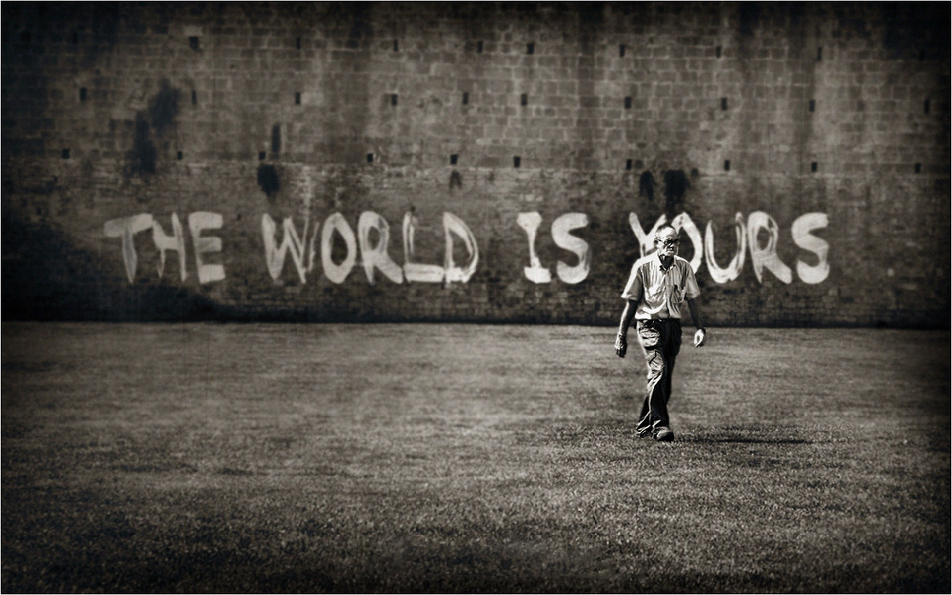 Graffiti full hd wallpaper and background image - The world is yours wallpaper ...