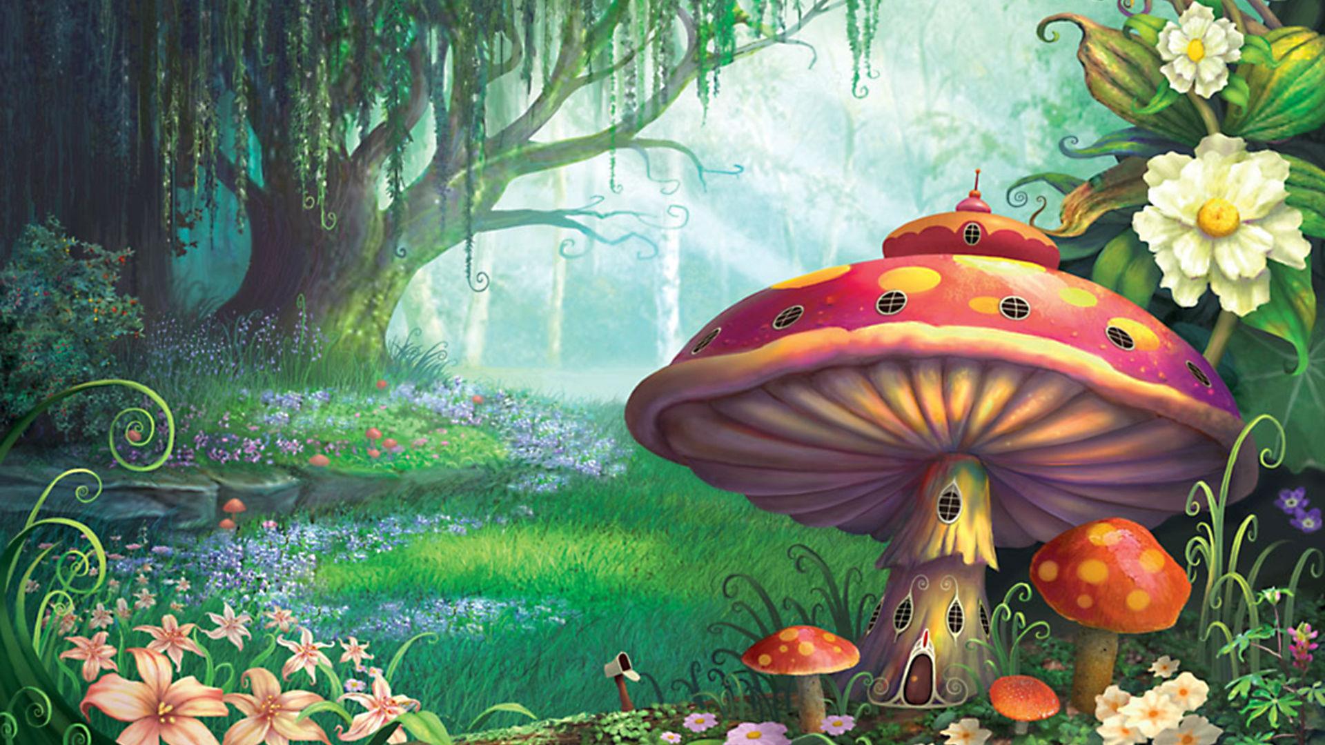 Fantasy - Forest  Wallpaper