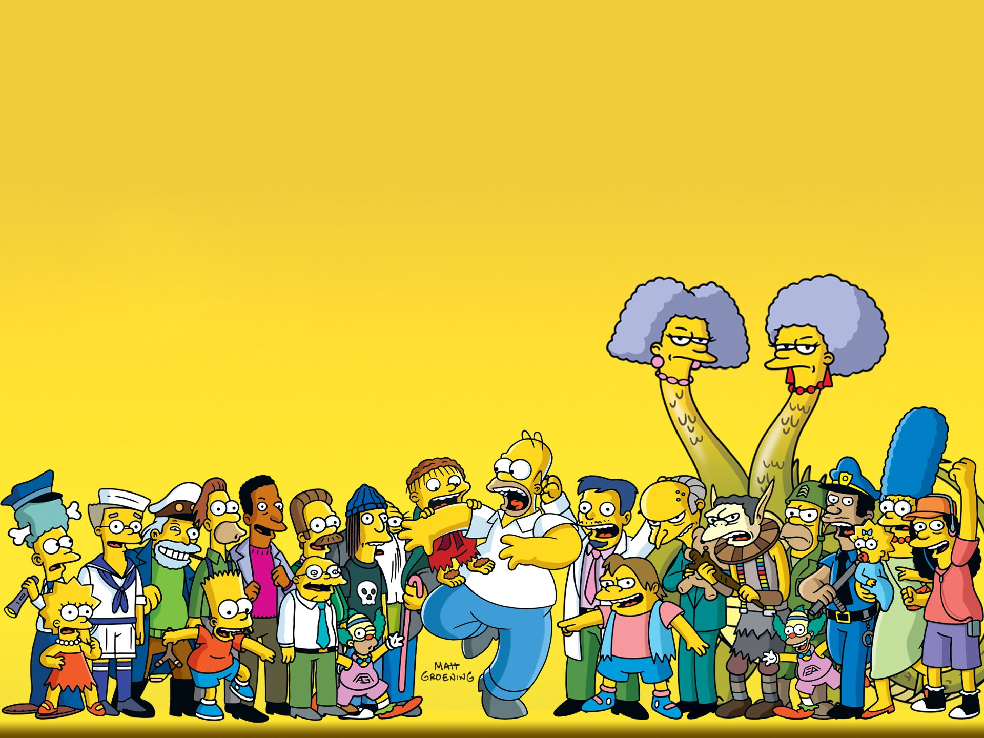 Les Simpsons Fond D Ecran Hd Arriere Plan 1920x1440 Id