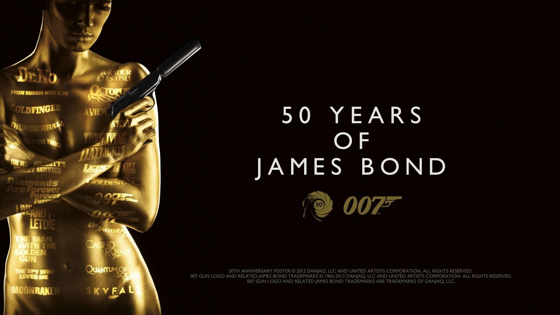50 years of james bond full hd wallpaper and background - James bond images hd ...
