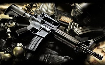 Weapons - Assault Rifle Wallpapers and Backgrounds ID : 223401