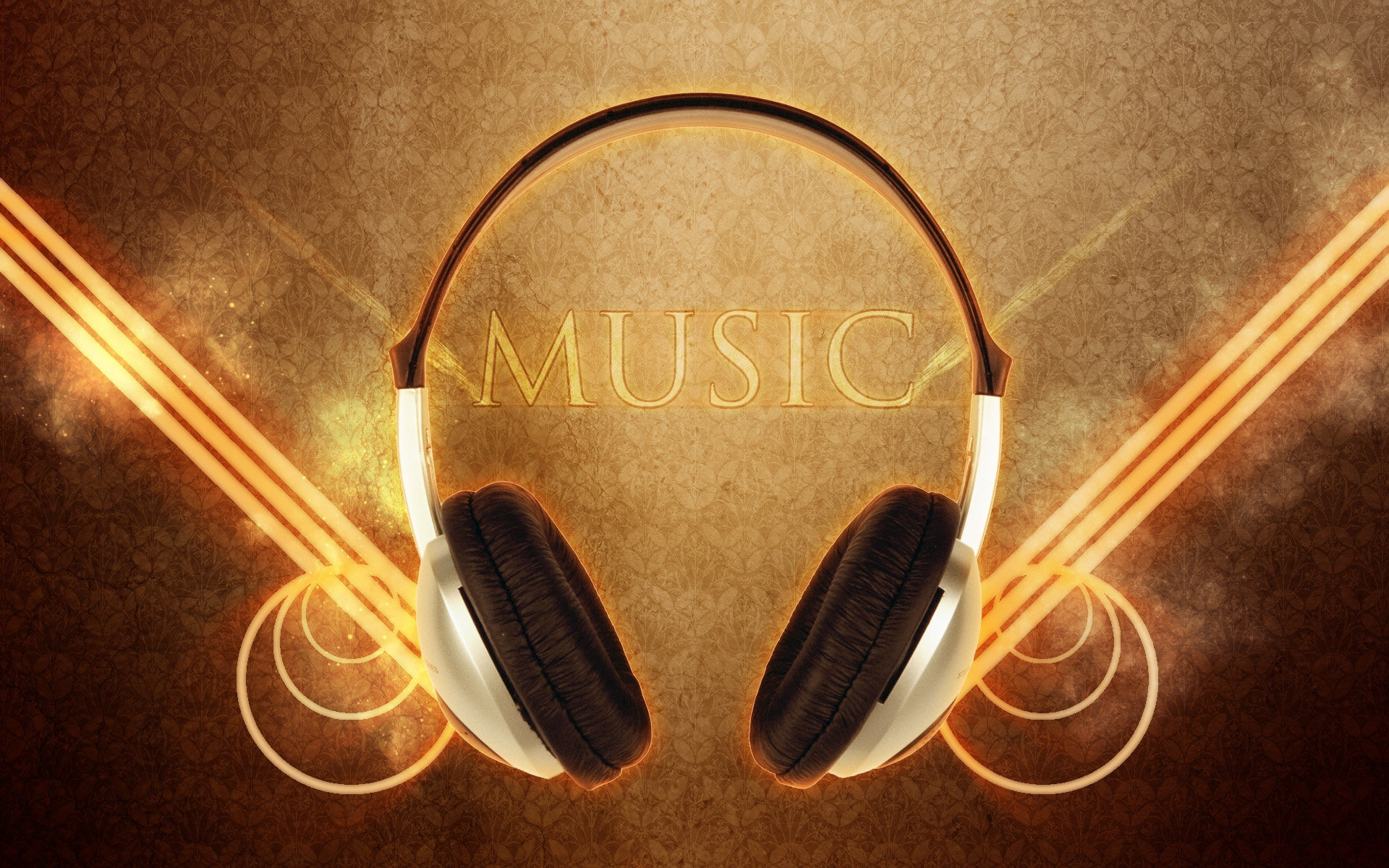 Music - Headphones  Wallpaper