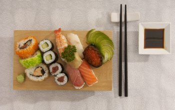 Alimento - Sushi Wallpapers and Backgrounds ID : 224113