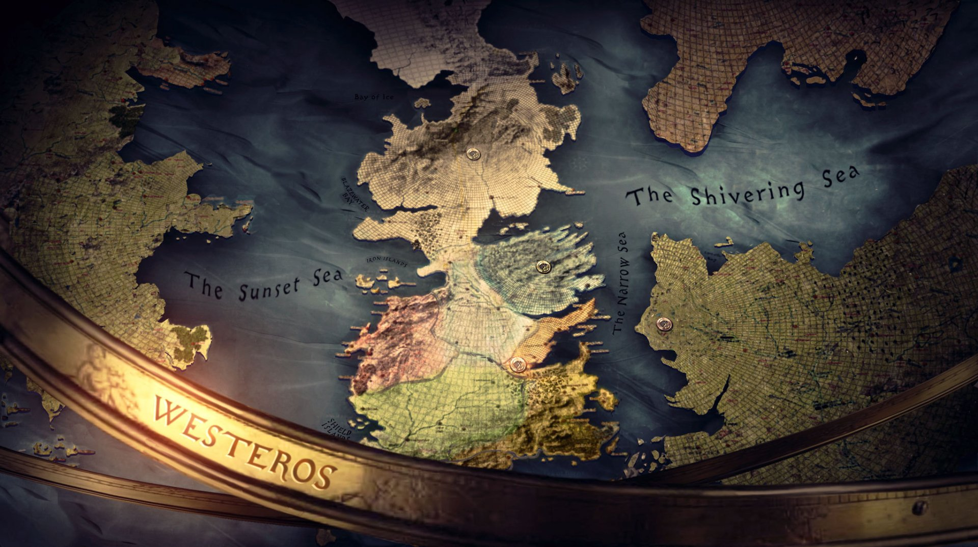 TV Show - Game Of Thrones  Map Wallpaper