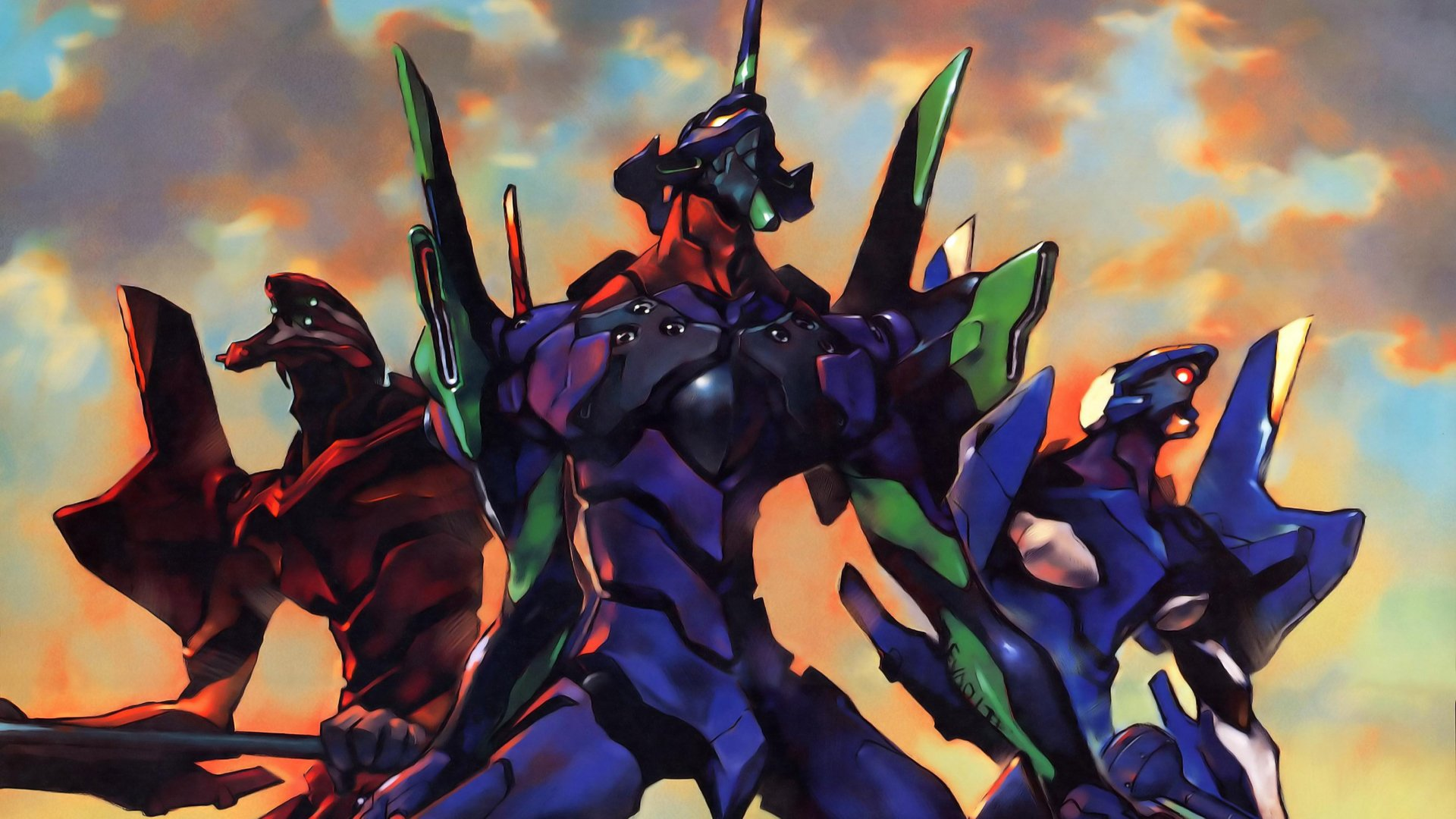 Anime - Neon Genesis Evangelion  Wallpaper